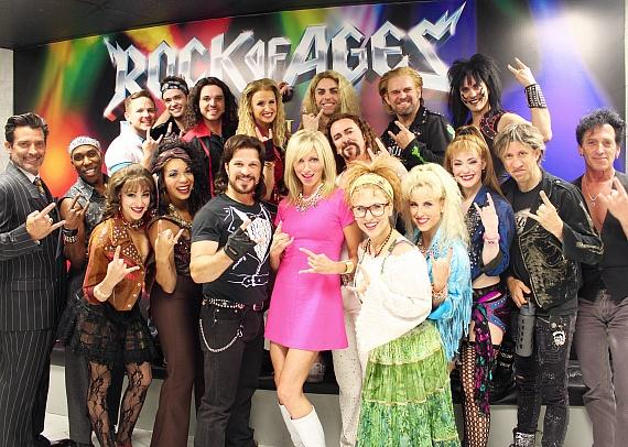 Rock Of Ages At The Venetian Las Vegas Debbie Gibson
